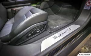 Кай Сервис. Внутреннее оборудование автомобилей Porsche. Porsche Taycan 4S