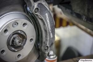 Кай Сервис. Техническое обслуживание и ремонт тормозной системы Porsche