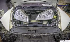 Кай Сервис. Внешнее оснащение кузова автомобилей Porsche. Работаем...